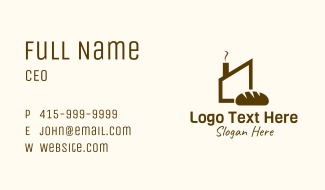 Brown Bread Factory Business Card