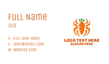 Carrot Spider Business Card