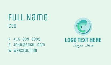 Circle Aquarium Business Card
