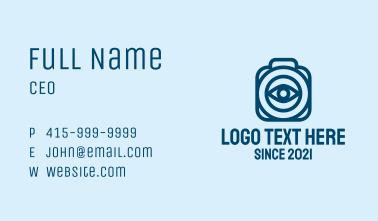 Camera Eye Photographer  Business Card