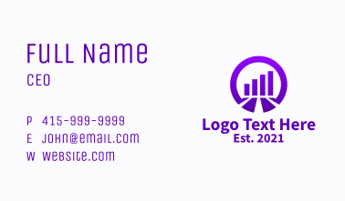 Purple Graph Realty  Business Card