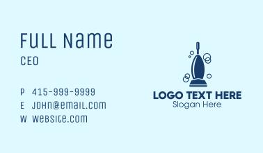 Deep Clean Vacuum Business Card