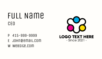 Community Printing Company Business Card
