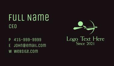 Green Archer Business Card