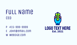 Wrench Home Repair Business Card