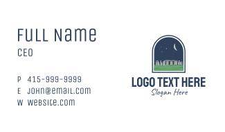 Stonehenge Landmark Business Card