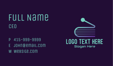 Online Learning Tutorial Business Card