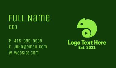 Chameleon Media Player Business Card
