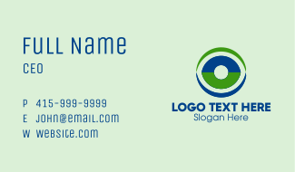 Eye Vision Clinic Business Card