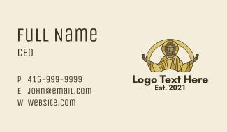 Risen Christ  Business Card