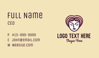 Beauty Facial Clinic Business Card