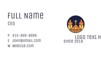 Polygonal Church Business Card