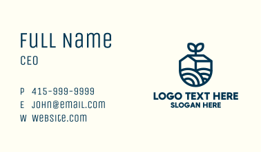 Blue Sprout Barn  Business Card