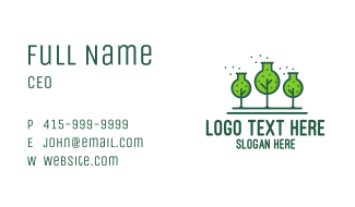 Green Lab Forest Business Card