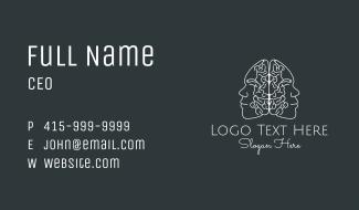 Human Brain Study Business Card