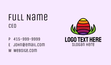 Rainbow Egg Business Card