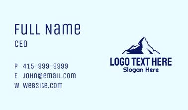 Blue Mountain Alpine Business Card