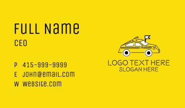 Taxi Service Locator Business Card