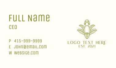 Fermented Tea Bottle Business Card