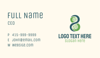 DNA Sequence Science Business Card