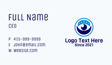 Optical Visual Clinic Business Card