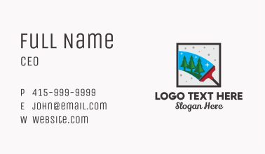 Home Cleaning Services  Business Card