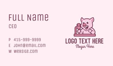 Pig Podcast Host Business Card