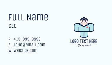 Medical Staff Mascot  Business Card