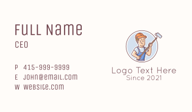 House Painter Guy Business Card