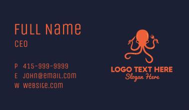 Octopus Diner Business Card