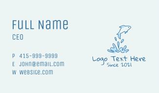 Aquatic Fish Pet  Business Card