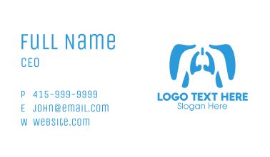 Human Respiratory System Business Card