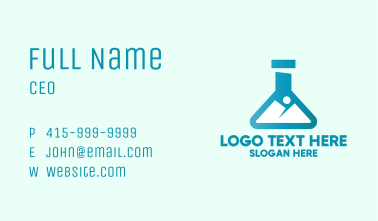 Earth Science Lab Business Card