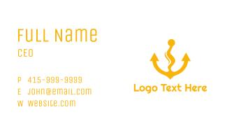 Anchor Vape Business Card