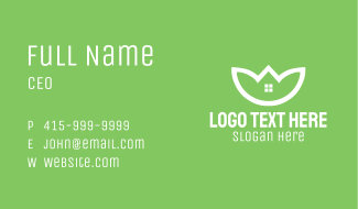 Sustainable Housing Business Card