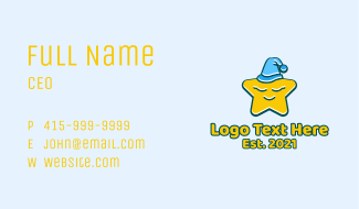 Baby Star Lullaby Business Card