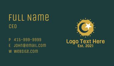 Islam Moon Star Business Card
