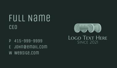 Traditional Greek Column  Business Card