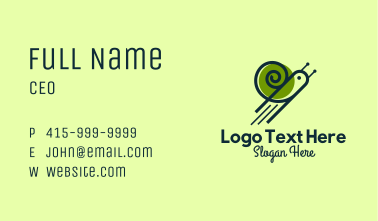 Flying Snail Business Card