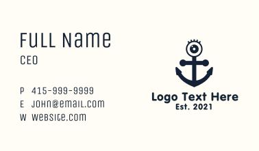 Kiddie Eye Anchor  Business Card