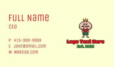 Lady Mushroom Queen  Business Card