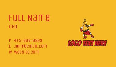 Boxing Banna  Business Card
