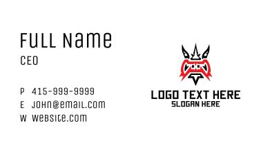 Wild Dragon Mascot  Business Card