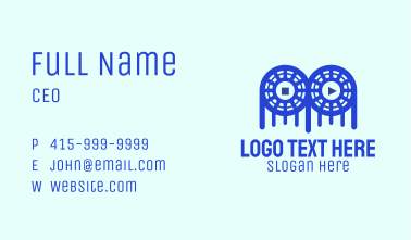 Game Controller Film Business Card