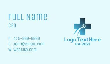Digital Medical Cross Business Card