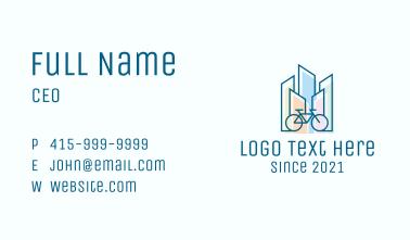 City Bike Tour Business Card