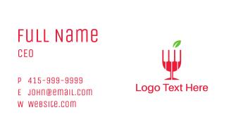 Wine Piano Business Card