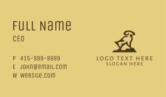 Mountain Ram Business Card