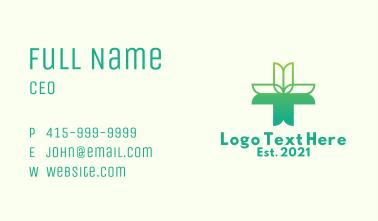 Tulip Alternative Medicine  Business Card