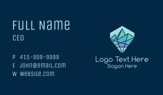 Diamond Mine Mountain Business Card